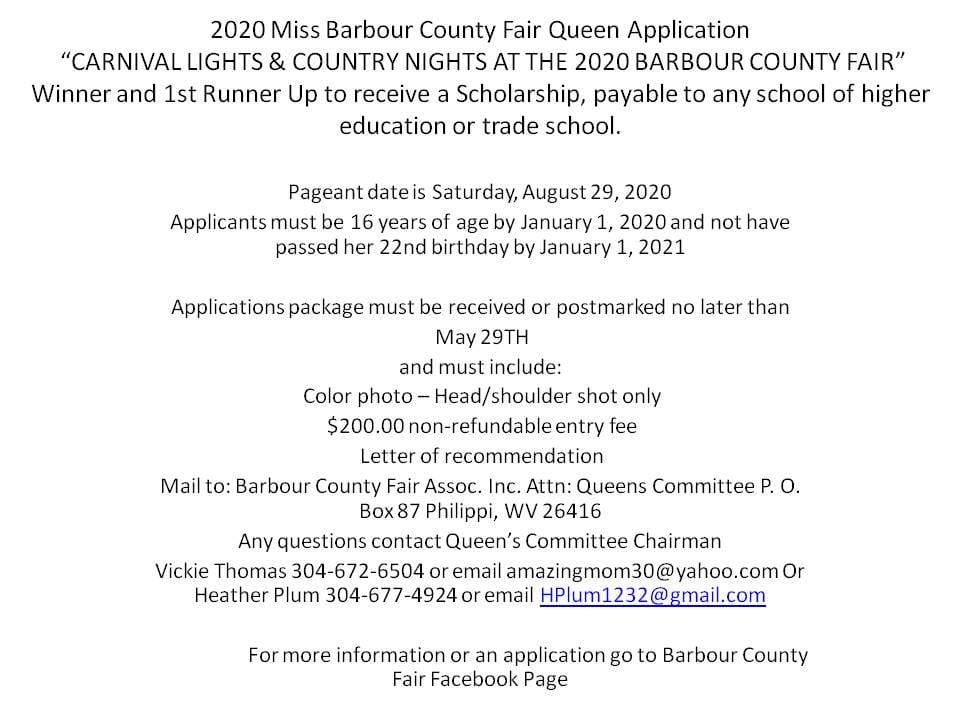 This image has an empty alt attribute; its file name is 2020-Miss-Barbour-County-Fair-Queen-Application.jpg
